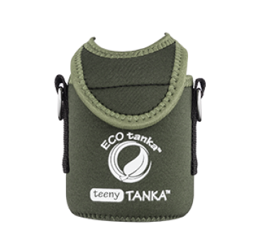 Eco Tanka Kooler 0,35 l Teeny Tanka in Waldgrün