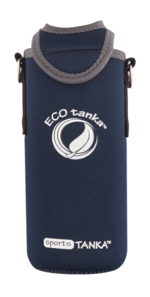 Eco Tanka Kooler 0,8 l Sports Tanka in Dunkelblau
